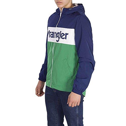 Wrangler Wrangler Giubbotto W4707v9jy Green Giubbotto rv5HwFxrq