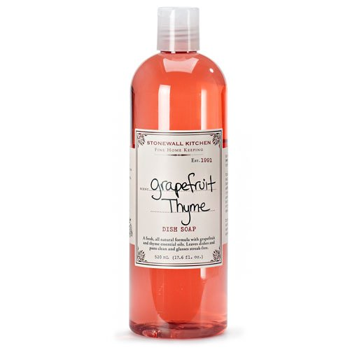 (Stonewall Kitchen Grapefruit Thyme Dish Soap, 17.6 oz)