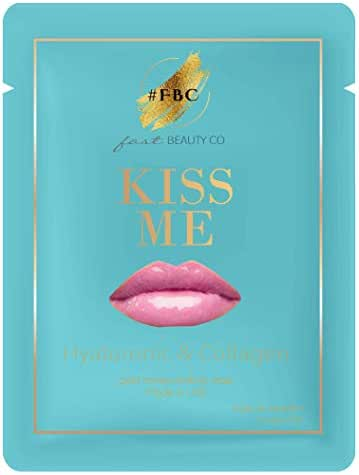 Fast Beauty Co. Kiss Me 1 Gold Honey Comb Lip Mask With Hydrating Hyaluronic & Collagen