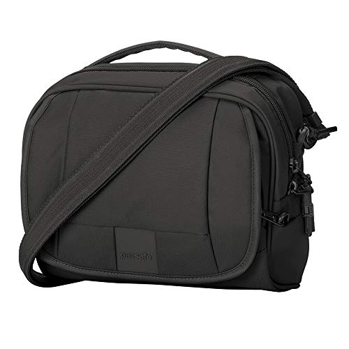 - Pacsafe Metrosafe Ls140 Anti-Theft Compact Shoulder Bag, Black