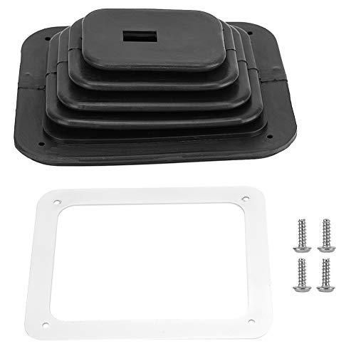 Aramox Gear Shift Gaiter Cover, Rubber Transmission Gear Shifter Boot Cover Replacement for GM350 ()