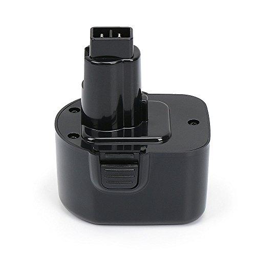 PowerGiant 12V 3.0Ah NiMh DW9072 DC9071 DW9071 Replacement Battery for Dewalt DW980 DW953 DW972 DC727 DW930 DW979 DW927 DC528 DW904