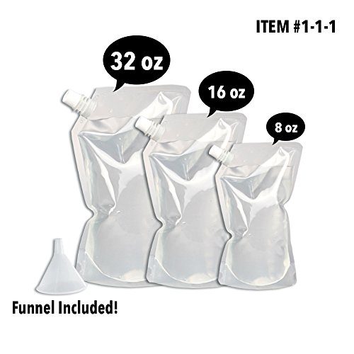 Concealable And Reusable Cruise Flask Kit Ð Sneak Alcohol Anywhere
