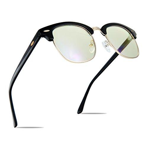 TOPERSUN Blue Light Glasses UV400 Anti Glare Computer Glasses Gaming Glasses Anti Eye Strain Blue Light Glasses for Women Man by TOPERSUN