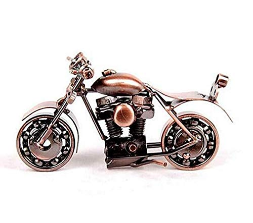 Motorcycle decor, Handmade Motorcycle Model Collectible Art Sculpture Motorbike For Home Decor (M34-1) bigboy