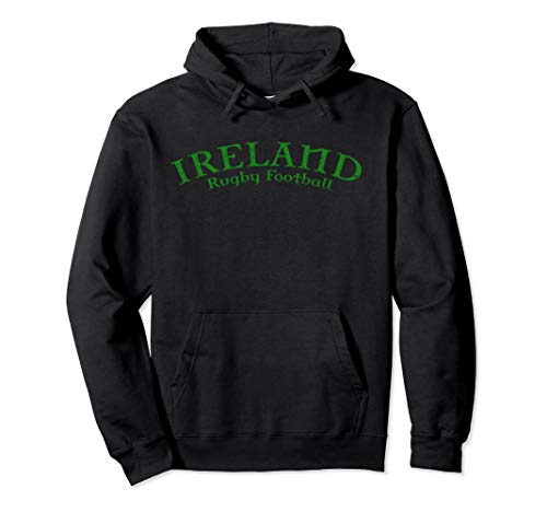 Peace, Love, Ireland Rugby Football Double-sided Hoodie