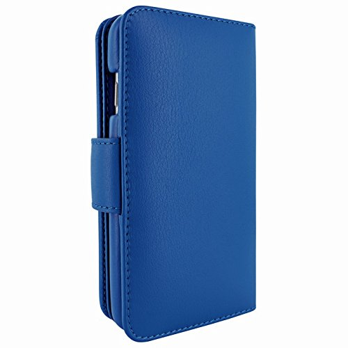 Piel Frama Wallet Case for Apple iPhone 6 Plus - Blue