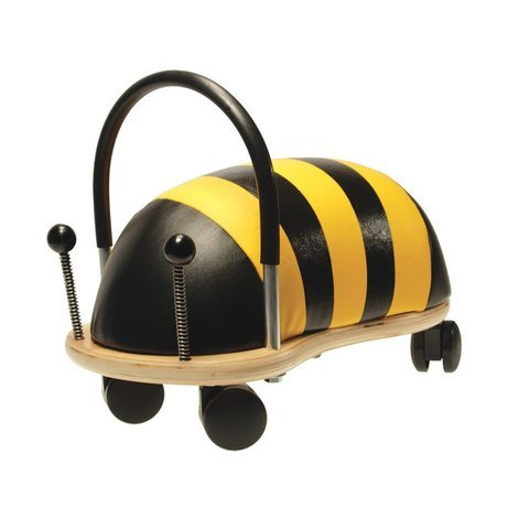 - WE-R-KIDS Game / Play Prince Lionheart Wheely Bug - Small/Bee. Ride, Non-toxic, Wooden, Colorful, Animals, Toy Toy / Child / Kid