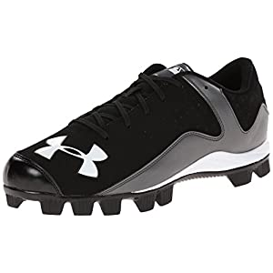Under Armour Men's Leadoff Low RM Baseball Cleats Black/Charcoal Size 9 M US