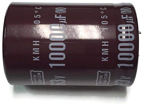 i-Con 105°C Electrolytic Capacitor 10000uF 63V (10000 mfd 63V) 20% Radial, 1 3/8