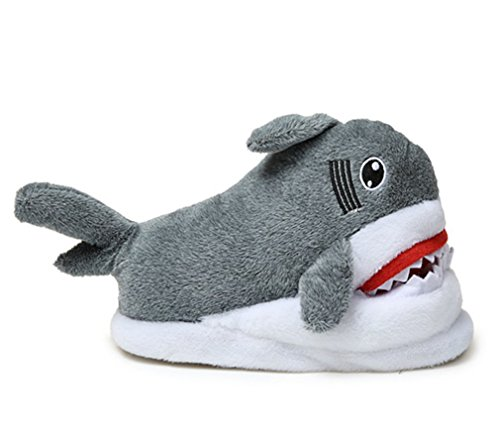 Loafers Slippers Unicorn Slip Plush Adult Spiritup Shark Cute House Anti ant81