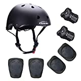 Knee/Elbow/Wrist Pads for Cycling Skateboarding Skating Rollerblading and Other Extreme Sports Activities