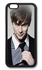 iPhone 6 Back Case - Crawford Chace Handsome Actor Celebrity TPU Bumper Case for iPhone 6 4.7 Inch Black