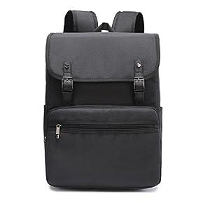 Weekend Shopper 15.6 inch Laptop Backpack For Women and Men Vintage Backpack College Bookbag Travel Laptop Backpack