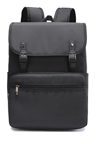 Weekend Shopper 15.6 inch Laptop Backpack For Women and Men Vintage Backpack College Bookbag Travel Laptop Backpack
