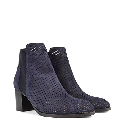 EU B 39 Elia de Ante Azul Easy Zapatos Mujer City Botines yzHRzcfa