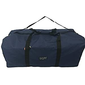 K-Cliffs Heavy Duty Cargo Duffel Large Sport Gear Drum Set Equipment Hardware Travel Bag Rooftop Rack Bag 42 Inch Navy Blue