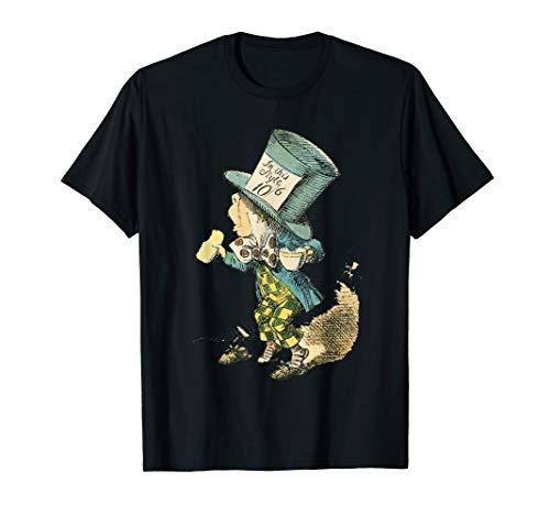 Mad Hatter Shirts (Alice in Wonderland Mad Hatter Vintage Illustration)