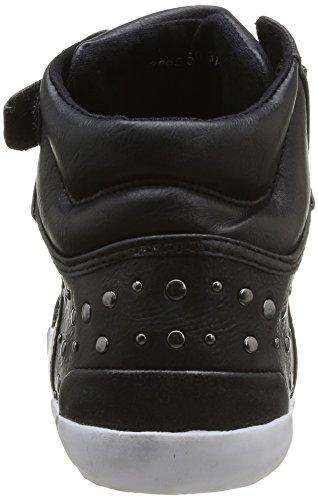 femme Kaporal Sasha 8 mode Baskets Noir Noir nngqTRx