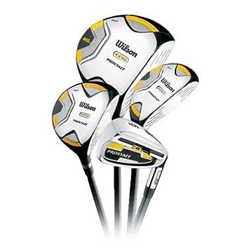 Wilson WGG110001 Graphite Pro Staff LCG - Kit de golf para ...