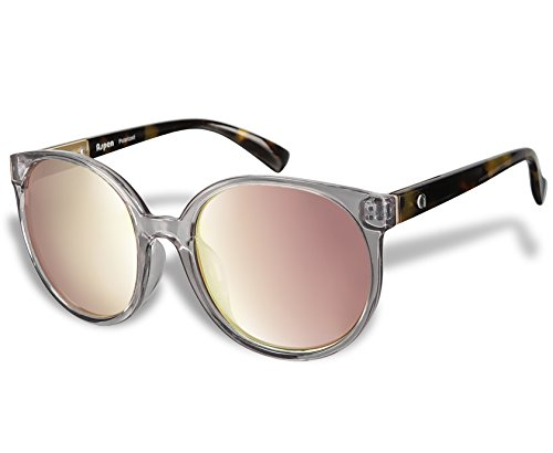 Aspen 70194 Fashion Polarized Sunglasses by Flux for Women uv400 (Crystal Grey, Rose - Kardashian Sunglasses Khloe