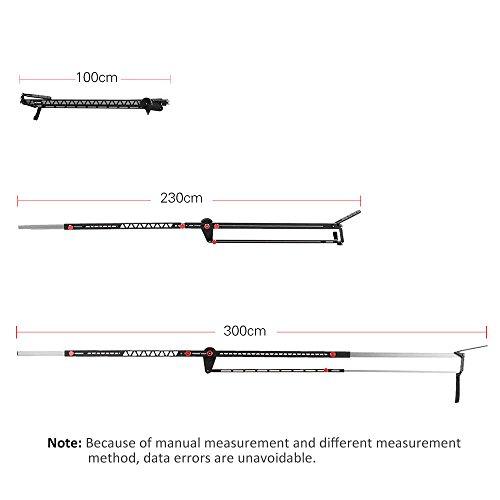 VILTROX YB-K275 DSLR Camera Jib Crane 3m Video Camera Supports Stabilizers Telescoping Portable Travel Jib Crane Arm, with carring bag by VILTROX (Image #3)