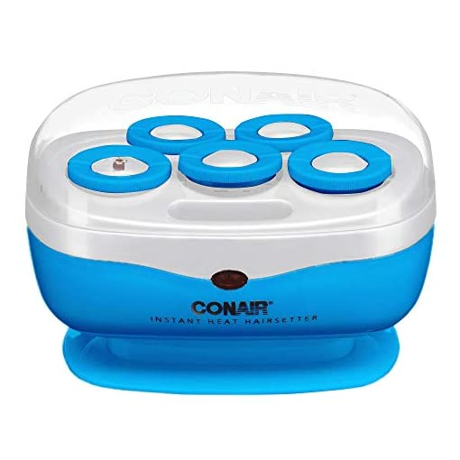 - 418OFJU8zLL - Conair Instant Heat Volume Rollers (blue)