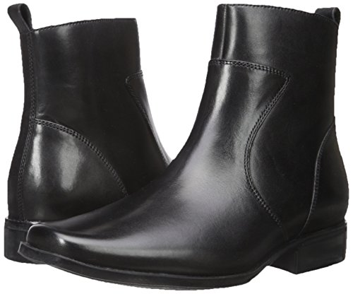 Rockport Men's Toloni Ankle Bootie, Black, 15 M US