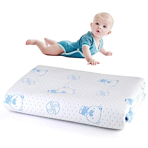 100% Cotton Bamboo Fiber Breathable Waterproof Underpads Water Absorption Baby Diaper Mat Soft Reusable Mattress Pad for Children or Adults Blue Bear (27