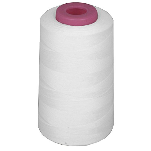 Linen Thread (LA Linen Serger Cone Thread, 6000-Yard, White)