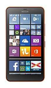 Microsoft Lumia 640 XL Dual SIM 8GB Naranja - Smartphone (SIM doble, Windows Phone, MicroSIM, GSM, WCDMA, Micro-USB B)