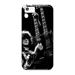 Iphone 5c TYq20009SPUI Allow Personal Design Vivid Led Zeppelin Image Shock Absorbent Hard Phone Covers -CristinaKlengenberg