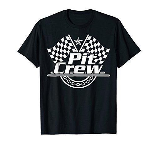 Mens Pit Crew Shirt - Pit Crew Shirt Race Car Themed Birthday Party Kids Men Women
