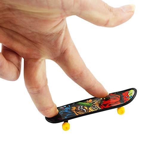 BeautyMood 24 pcs Professional Mini Finger Skateboard, Creative Fingertip Movement for Adults and Children (Random Mode). by BeautyMood (Image #1)