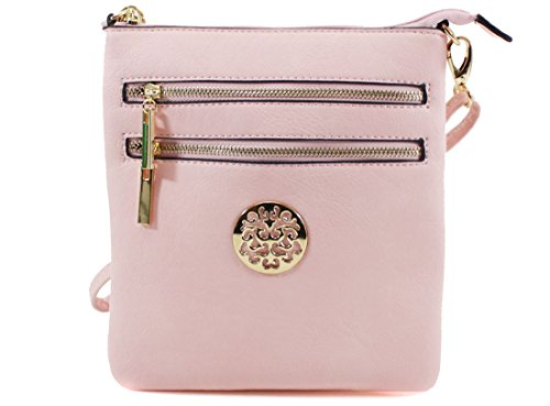 Over Detachable Cross Women Body Ladies Pink Messenger Handbags Bags Light Shoulder Bag xTYdx8nqw