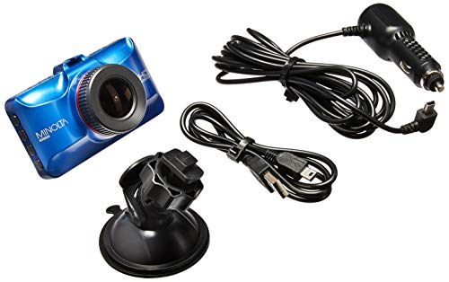 Minolta MNCD50 1080p Full HD cámara de salpicadero (Azul)