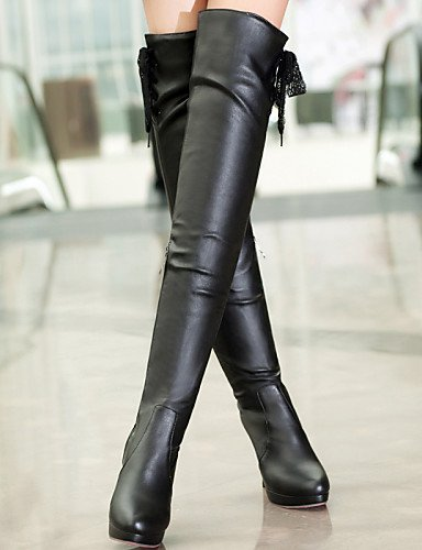 Zulaufender Spitz Stiefel Kleid Stiefel Zehenbereich Citior Fashion Damen Beute Damen Outdoor Schuhe Stiletto Beute Heel 1vqxTZRwzv