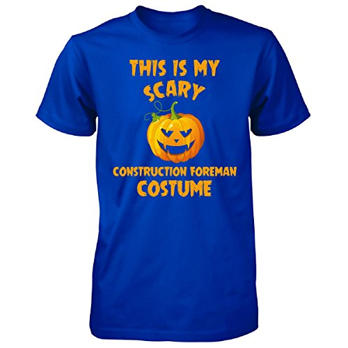 Construction Foreman Costume (This Is My Scary Construction Foreman Costume Halloween - Unisex Tshirt)