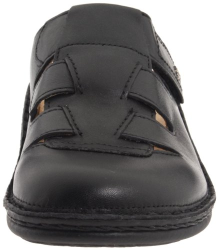 Vionic With Orthaheel Technology Womens Fyn Lace Up Sneaker Nero Nappa