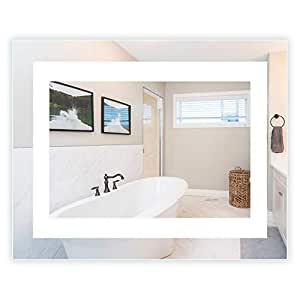 Amazon Com Led Front Lighted Bathroom Vanity Mirror 36