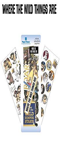 Paper House Productions SET-0017E Decorative Sticker, Decal, Label Assorted Colors ()