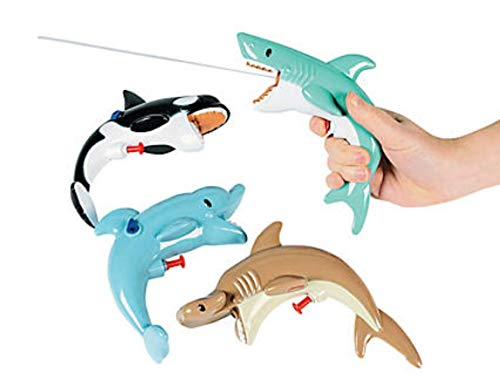 HAPPY DEALS ~ Sea Life Squirt Guns - Games & Activities & Water Toys (4 Different)