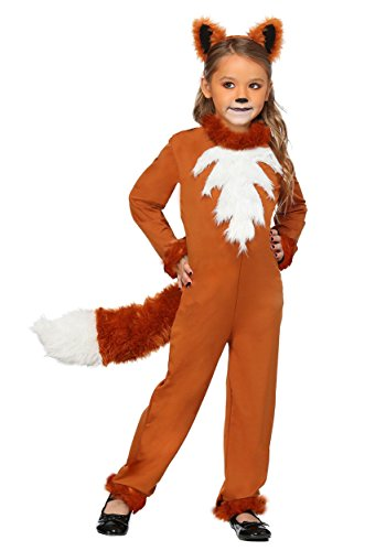 Girl's Sly Fox Costume Medium ()
