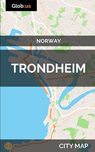 trondheim norway map