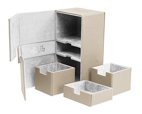 200 Card Twin Flip N Tray Xenoskin Deck Case, Sand