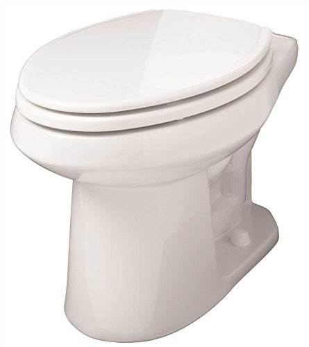 (Gerber Plumbing AV-21-862 Gerber Avalanche Watersense High-Efficiency Elongated Siphon Jet Toilet Bowl, 1.6 Gpf/1.28 Gpf, White - 2463439)