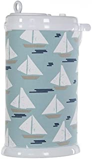 product image for Glenna Jean Little Sail Boat Ubbi Diaper Pail Cover