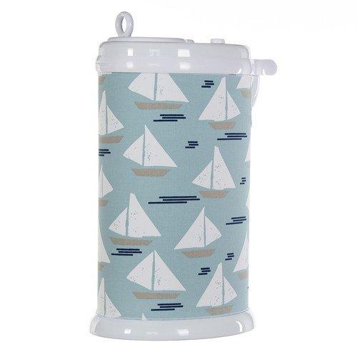 Glenna Jean Little Sail Boat Ubbi Diaper Pail Cover