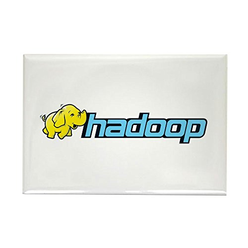 CafePress hadoop_elephant_rgb2 Magnets Rectangle Magnet, 2