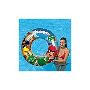 Amazon Com Bestway Angry Birds Rovio Swim Ring 36